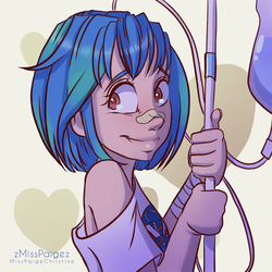 Earth Chan by MissPaigeChristine