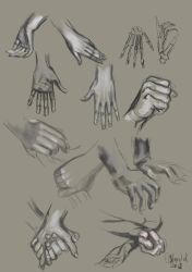 Hands by Asfodelium