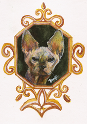 aceo kitty by kailavmp