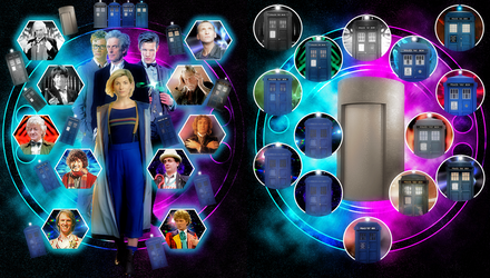 HD Doctor And TARDIS Poster by vvjosephvv