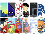 2012 in Review by doctormo