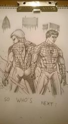 True spidermen by Skoolnik