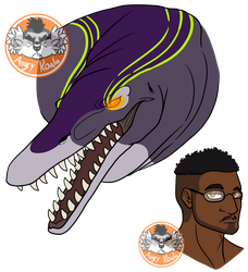 Adonis bust -Dino Squad- by AngryKoalaAK