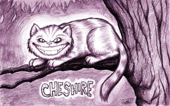 Cheshire Cat by SethWolfshorndl