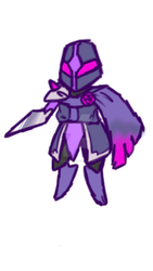 Fakeathon Day 1 - Knight  by TrainerCord