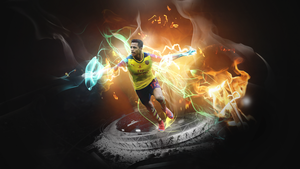 alexis sanchez wallpaper 2015 by MorBarda
