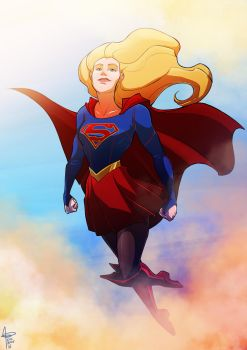 the world needs you to fly, kara by emedeme
