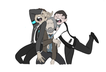 Detroit Become Human-Drawing meme2 by Starr-Lilly17