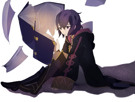 studying by tokoco