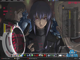 GITS Desktop by nathehunt