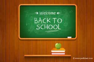 Vector Back to school Background (PSD) by psdblast
