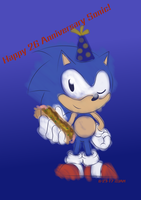 Sonic 26 birthday by sonamyluv123