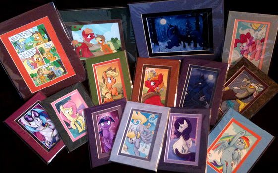 MLP Portrait and Art Prints by SpainFischer