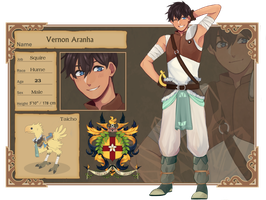 ::CT:: Vernon Aranha by Hourglass34