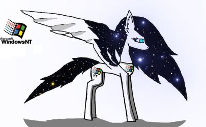 Windows NT pony by windowsOS-tan-artist