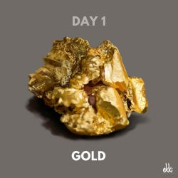 Day 1: Gold by ekkiart