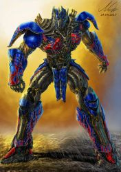 Transformers the last knight (2017) Optimus Prime by PrimalArt210