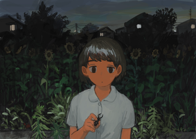 Back in August by minahamu