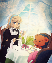 a tea party by pepaaminto