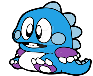 Bubble Bobble Bob tribute by b3lz3bu