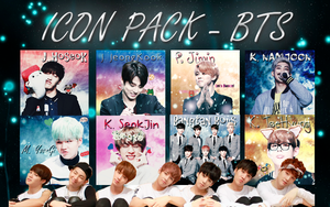 {SHARE FREE} Icon Pack #1 - BTS by YuriBlack