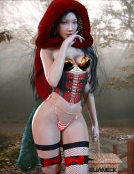 Little Red Riding Hood by elianeck
