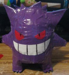Duct tape Gengar by NotFromMars