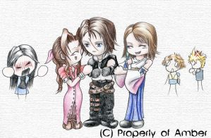 Pimp Squall by CinnamonSoldier