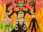 Aku's Apprentices by AntoniMatteoGarcia