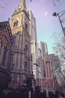 Scots' Church Melbourne by ProfessorMcSensei