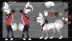 Miles official ref sheet by Cosmicshadows123