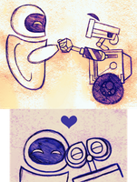 Happy 10th Anniversary Wall-E! by PuccaFanGirl