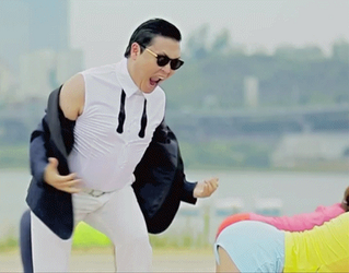 Gangnam Style Funny GIF ( Sexy Lady ) :p by LordRender