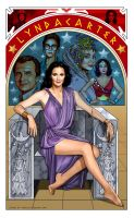 Lynda Carter by hamletroman