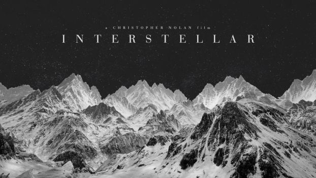 Interstellar Wallpaper 2 (Black and White) by ruffsnap