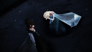 MMD Frozen 2 Evil Elsa vs Elsa by dalton2192
