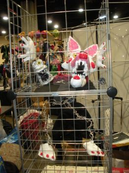 full body of the Mangle Five nights at Freddy's by FreeRangeKittens