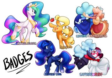 Badges Page 2 by Luximus17