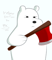 Ice Bear - We Bare Bears by PandaKillerGao