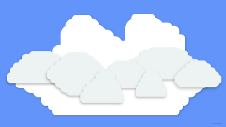 Lego Clouds - 1920x1080 by NumFive