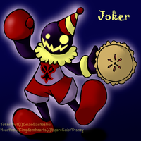 Joker :heartless OC: by GuardianYashu