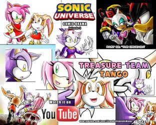 SONIC UNIVERSE #21 Comic Drama - Episode 3, PART 2 by ElsonWong