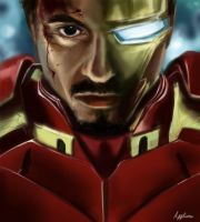 Iron Man by Applime