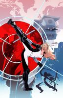 MOCKINGBIRD: S.H.I.E.L.D. 50TH ANNIVERSARY by PaulRenaud