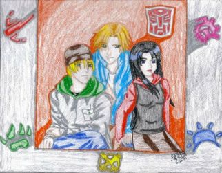 Bud, Coby and Lori by IsisConstantine