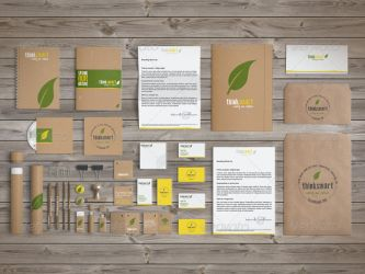Corporate and Brand Identity Mock-Up by creartdesigns