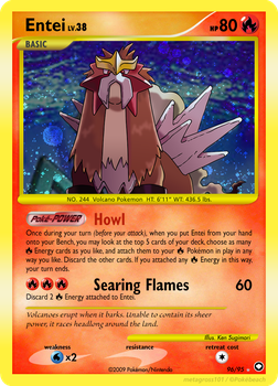 96 - Entei by Metagross101