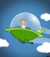 Favorite childhood cartoon - George Jetson by gandarewa