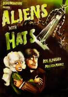 aliens with hats by zarzo