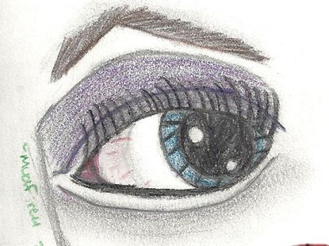 Just An Eye by Mudfire4